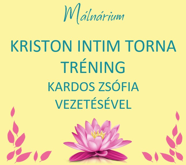 Kriston intim torna tréning Kardos Zsófiával