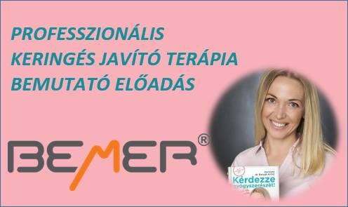 Professzonális keringésjavító Bemer terápia bemutató előadás