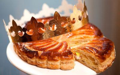 Mandulakrémes pite vízkeresztre (galette des rois)