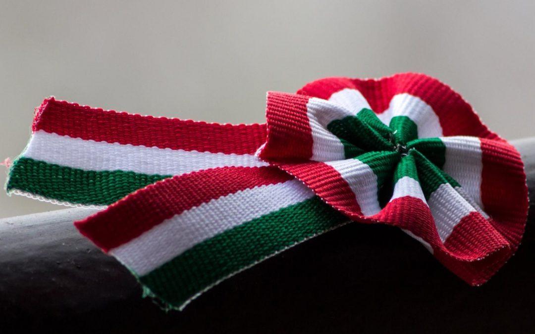 Te hogy varrod a magyar nemzeti kokárdát?